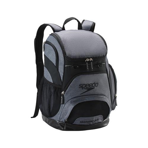 SPEEDO PRINTED TEAMSTER BACKPACK (35L) - GREY/BLACK