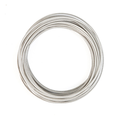 """COMPETITOR 3/16"""" SS VINYL COATED CABLE, PER FOOT"""