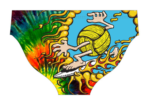 DELFINA MALE PSYCHEDELIC WATER POLO SUIT