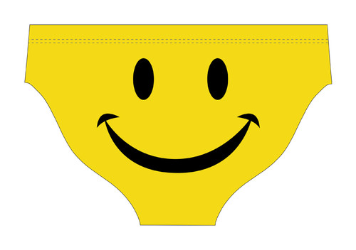 DELFINA MALE SMILEY FACE WATER POLO SUIT