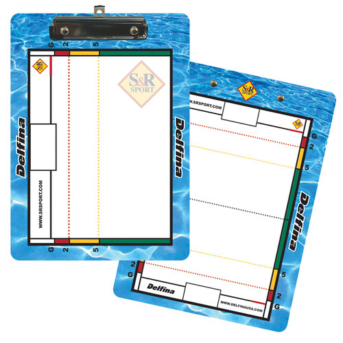 ***BLOWOUT**** S&R SPORT DOUBLE SIDED DRY ERASE CLIPBOARD