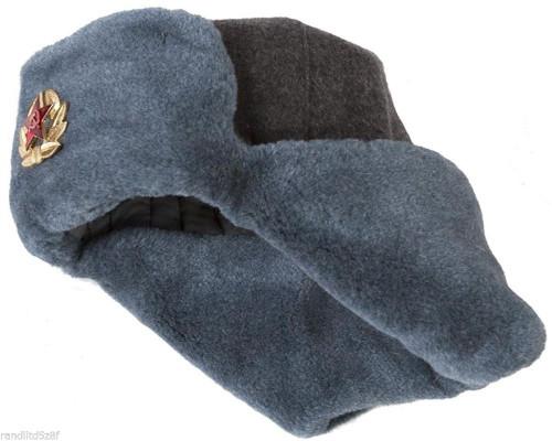 5aacb9cb41e75 ... USSR Vintage Russian Army Ushanka Winter Hat