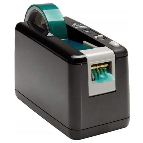 "Dispensador de cinta eléctrica / de batería ZCM0800-WT, cinta ancha de 1 ""con 3 longitudes predeterminadas."