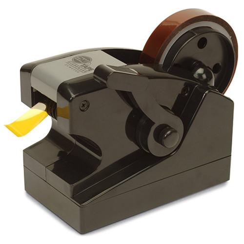 """Las dimensiones son 6,25 """"L (159 mm) x 3,5"""" W (89 mm) x 4,88 """"H (124 mm). Guarde la cinta controlando la cantidad dispensada con cada presión de la palanca.La palanca se puede ajustar girando el perno con el centro para aflojar, moviendo el mango hacia arriba o hacia abajo, luego volviendo a apretarlo."""