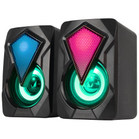 RGB Gaming Speaker Set with LED Colour Changing Lights