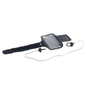 Active WDS Bluetooth Earphones, Black & Grey