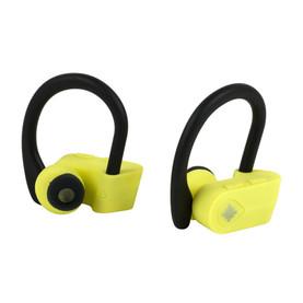 Active TWS 10 Wireless Bluetooth Earphones, Black/Yellow