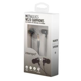 Metallics WS20 Earphones, Black