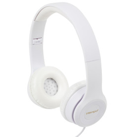 Folding Clarity Headphones, White