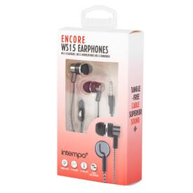 Encore WS 15 Earphones, Grey