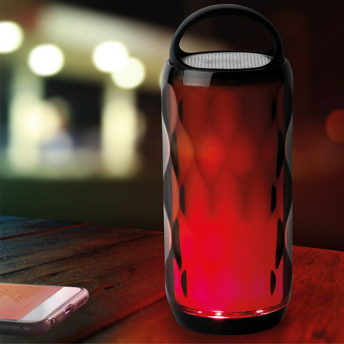 Galaxy WDS82 LED Colour-Changing Crystal Wireless Bluetooth Speaker