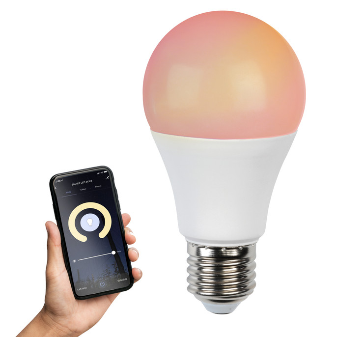 Smart Light Bulb with Screw-In Fitting