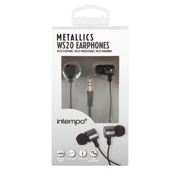 Metallics WS20 Earphones, Grey