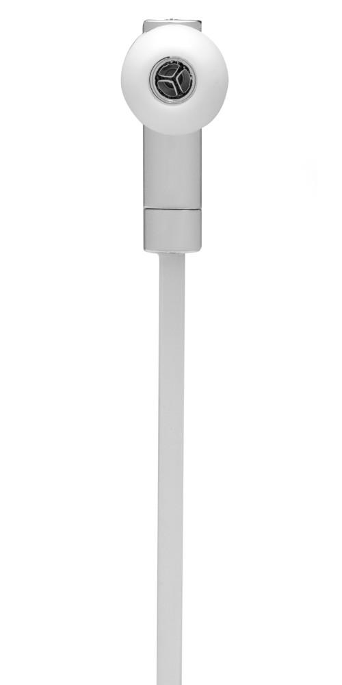 Metallic Look Bluetooth Earphones, Silver