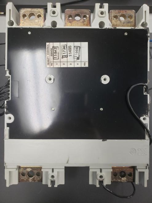 ABB S6N SACe S6 600VAC 600AMP + PR211 2 pole CIRCUIT BREAKER