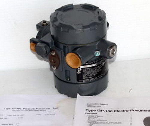 New Fisher I2P/100 Transducer New