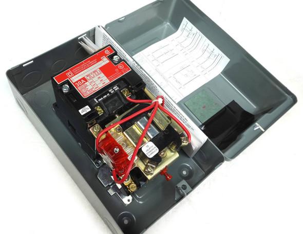 Square D 8903Smg10V02 2 Pole 30 A Lighting Contactor 480/600Vac