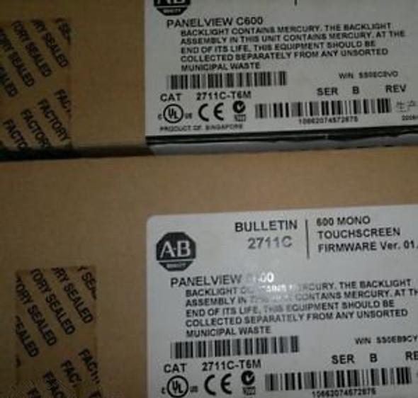 Allen Bradley 2711C-T6M Panelview C600 New In Box