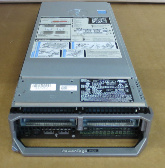 Dell Poweredge M620 Blade Server E5-2670 8-Core Xeon 48Gb Ram