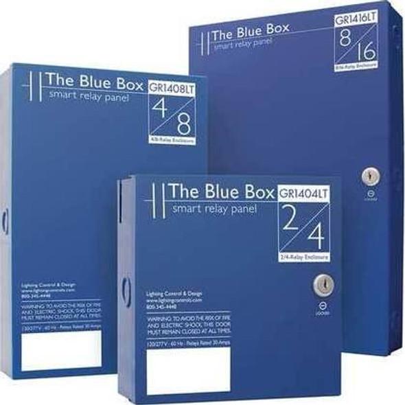 Control Panel,Wall Box,Blue Lithonia Lighting Gr1416 Lt 16Ncl Dtcmod Dv Sm Ne1