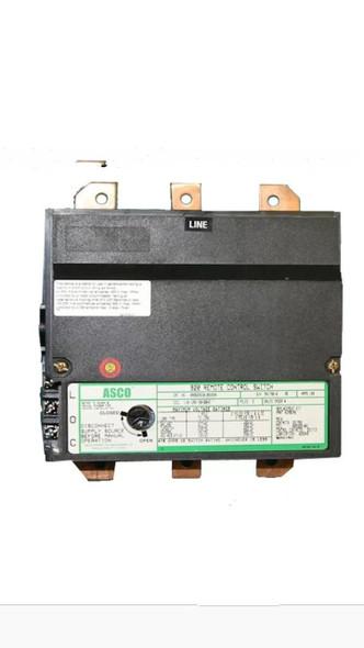Asco 920 3 Pole Lighting Contactor 200Amp 110-120Volt Coil No Subpanel Open Type