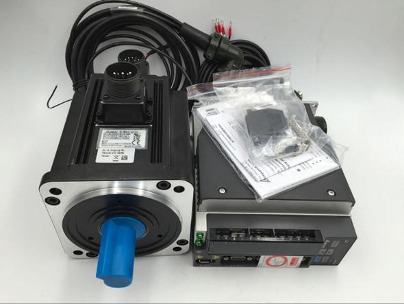 Delta 3.18Nm 1Kw Ac Servo Motor Nema42 &Servo Driver&3Meter Encoder Power Cable