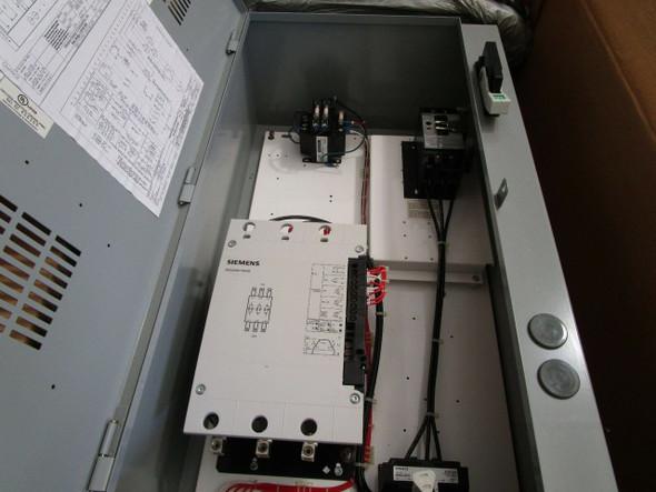 Siemens 3Rw34 Sikostart W/ 100Amp Breaker Mounted In Enclosure