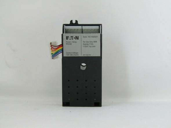EATON CUTLER HAMMER Magnum DS Digitrip 1150 Power Relay Module 120VAC 70C1002G01
