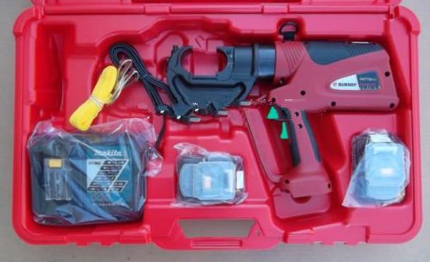 Burndy PAT750LI Hydraulic battery operated crimper Patriot crimping tool new