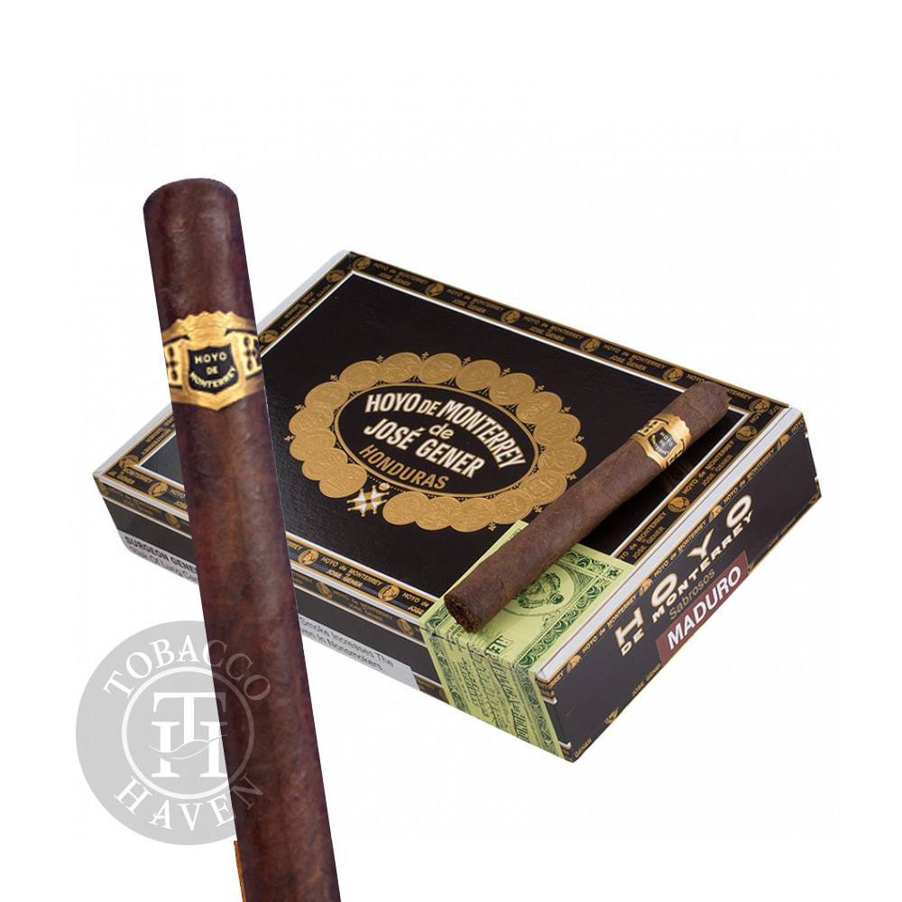 Hoyo De Monterrey - Governors Maduro, 6 1/8 x 50 Cigars (25 Count)