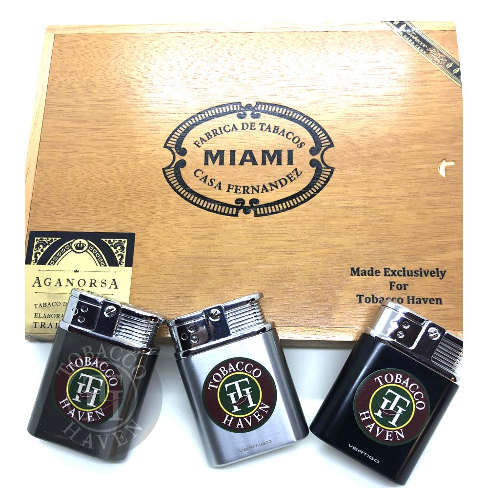 30th Anniversary  Cigar - Casa Fernandez Cigar Box with Lighter