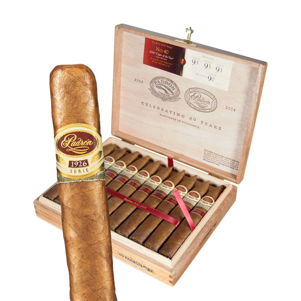 Padron - Anniversary 1926 - Natural #2 Cigars, 5 1/2x52 (24 Count)