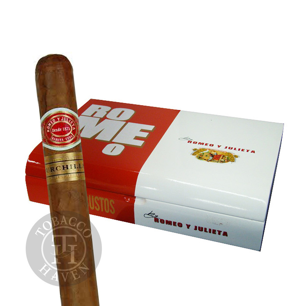 Romeo y Julieta Cigars - Romeo by Romeo - Churchill, 7x56 (20 Count)