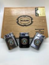 30th Anniversary  Cigar - Casa Fernandez Cigar Connecticut Box with Lighter