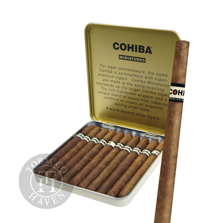 Cohiba - Miniature Cigars, 3 7/8 x 24 (10 Packs of 10)