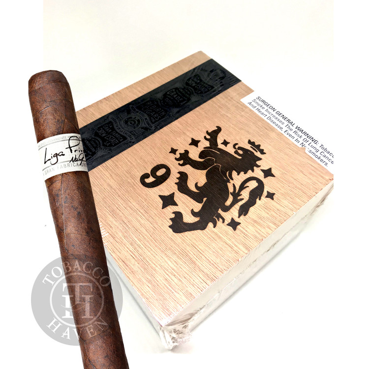 Liga Privada 9 (Drew Estate) Belicoso Cigars (Box of 24)