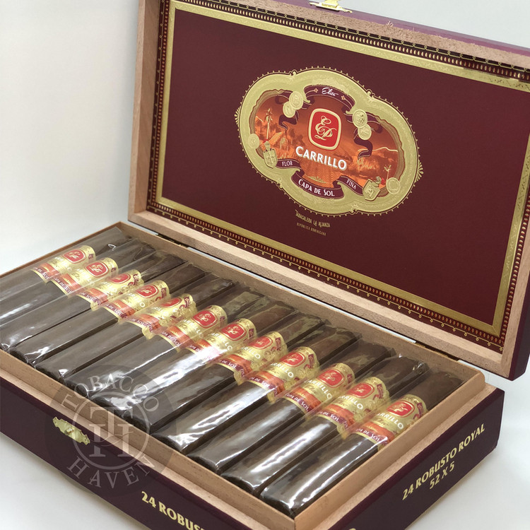 E.P. Carrillo Capa Del Sol Number 5 Cigars (Box of 24)