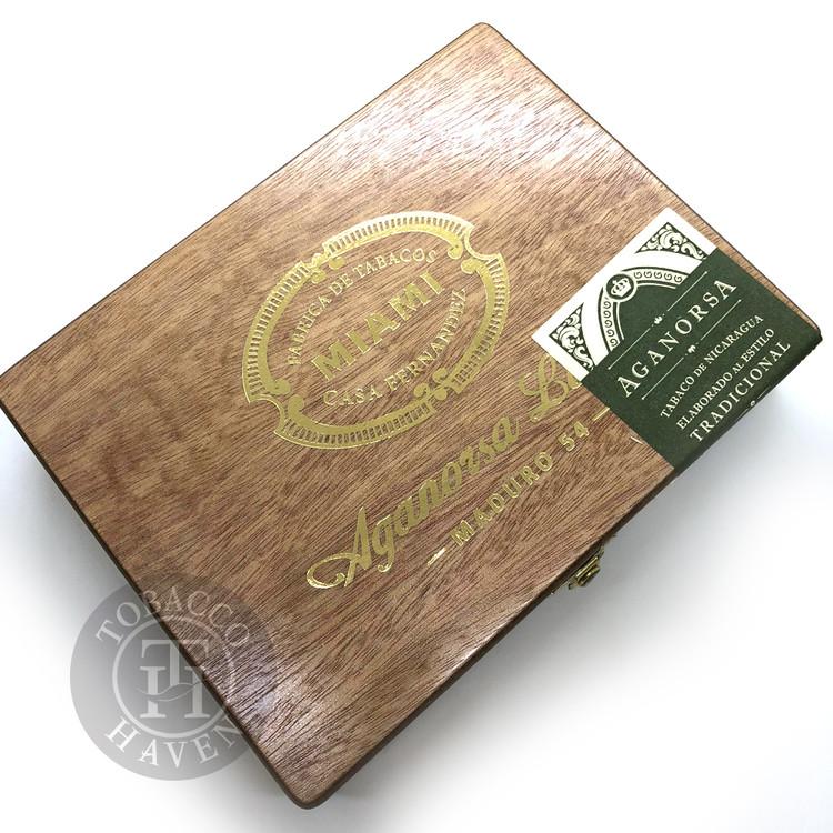 Casa Fernandez Miami Aganorsa Leaf Maduro Robusto Cigars (Box of 15)