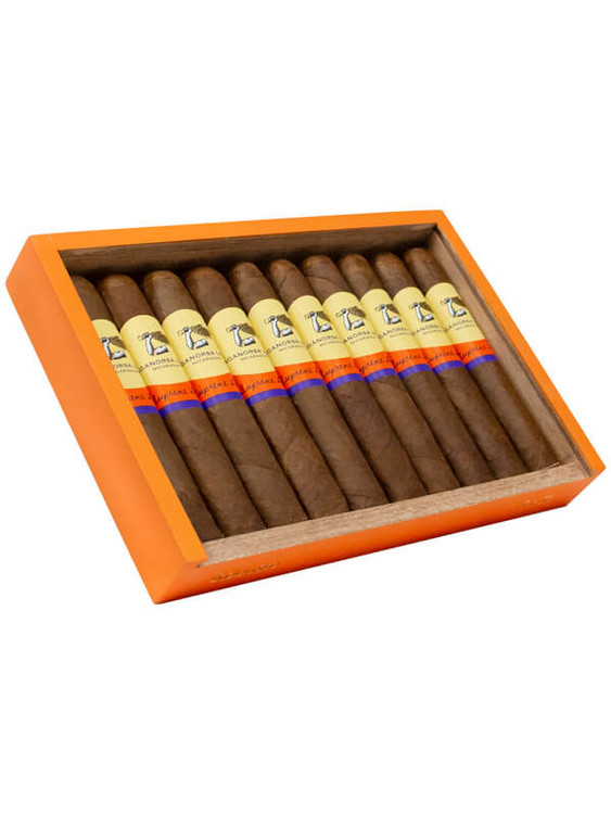 The new size of the Supreme Leaf is a 5x46, and still delivers the same flavor as the other sizes.  It is a Nicaraguan Puro, with the tobacco coming from Jalapa Nicaragua, and the wrapper is the infamous Corojo 99 leaf.