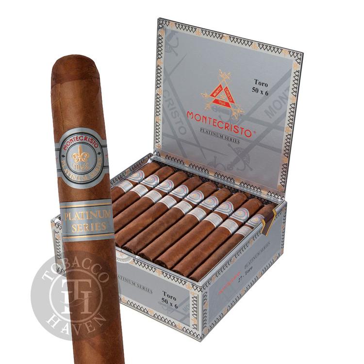 Montecristo - Platinum - Rothchilde Tubo Cigars, 5x50 (15 Count)