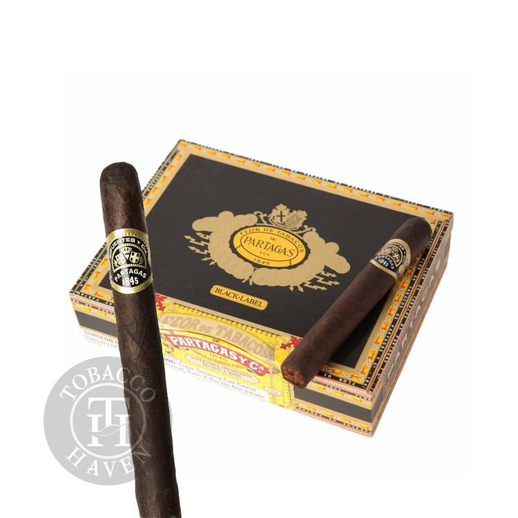 Partagas - Black Label - Classico Cigars, 5 1/4 x 54 (20 Count)