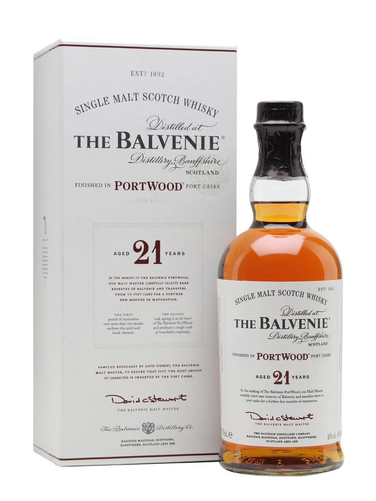 Balvenie 21 yr Scotch