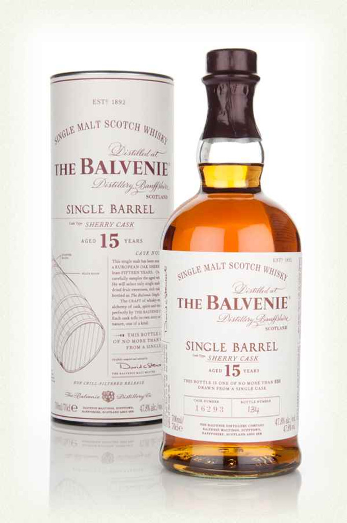Balvenie 15yr  Single Barrel, Sherry Cask
