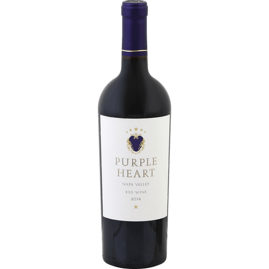 Purple Heart Napa Valley Red 2015