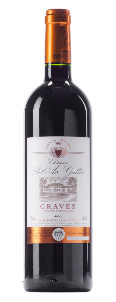 Château Bel Air Gallier Graves Rouge 2012