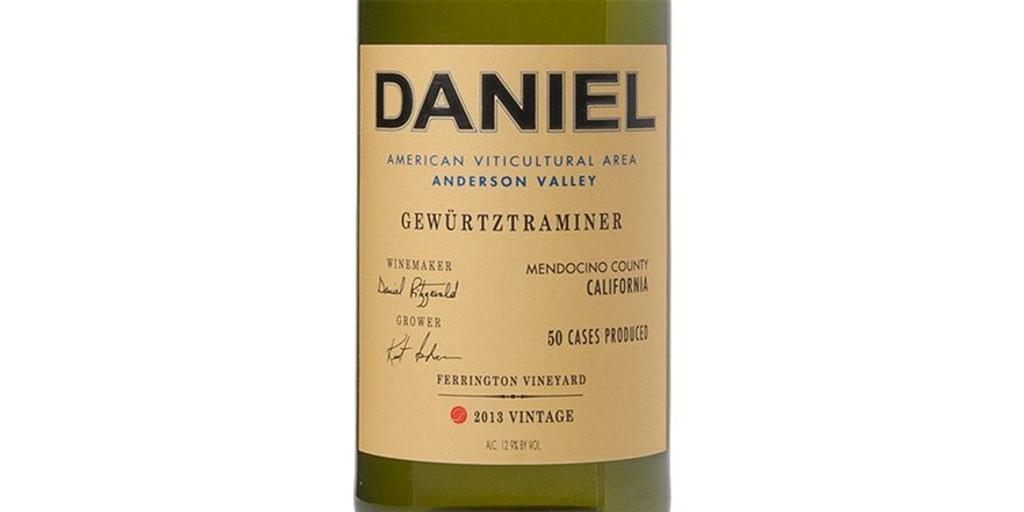 Daniel 'Ferrington Vineyard' Gewürtztraminer Anderson Valley 2015