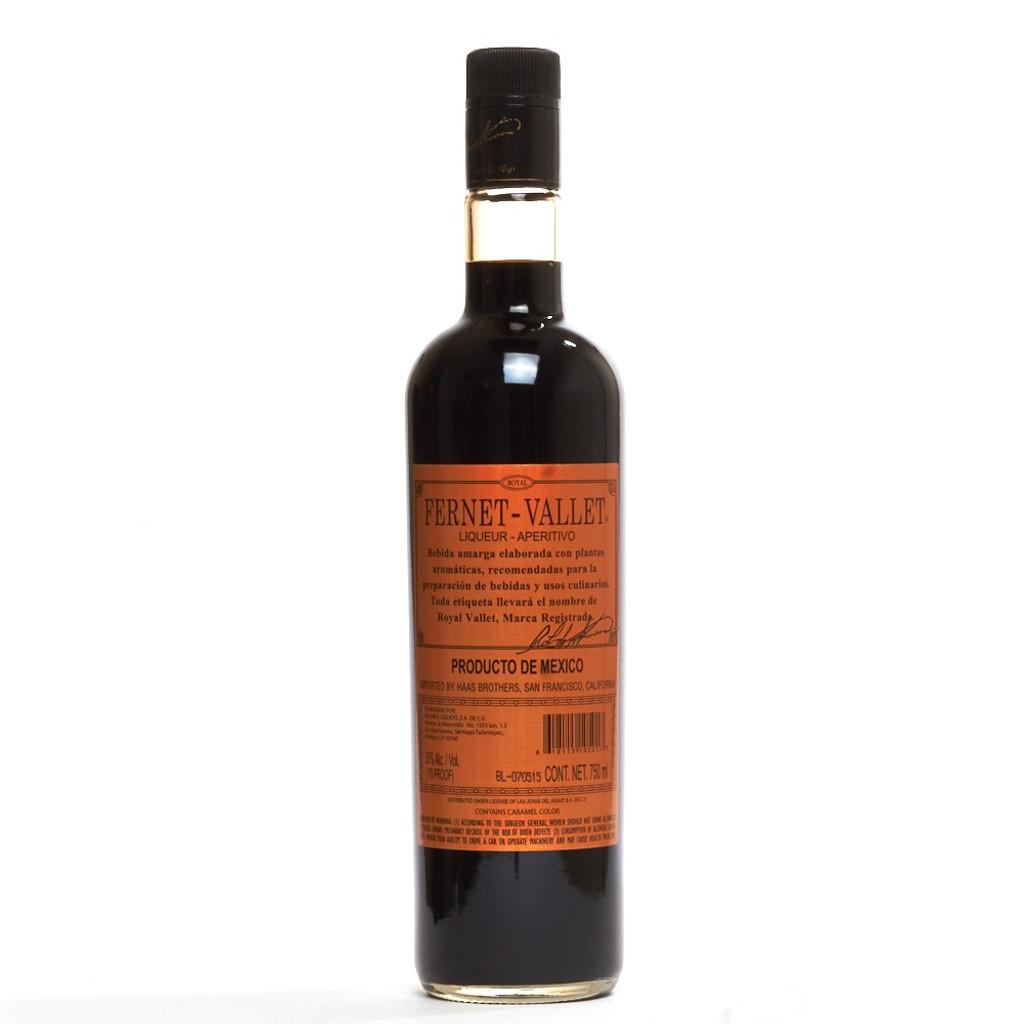 Fernet Vallet Liqueur
