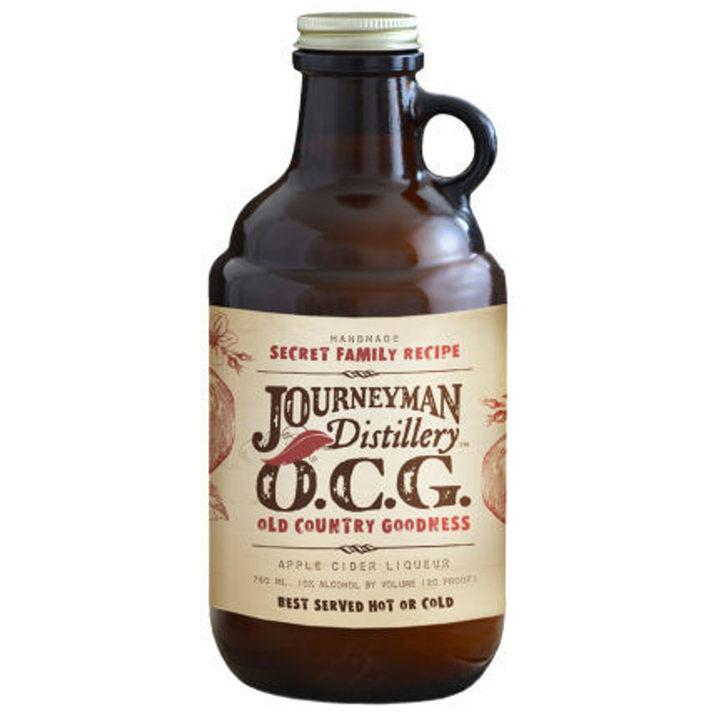 """OCG"" Old Country Goodness Cider Liqueur Journeyman Distillery"