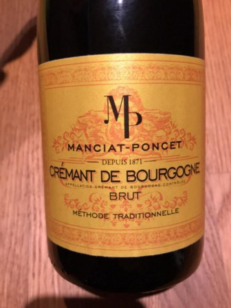 Manciat Cremant de Bourgogne NV
