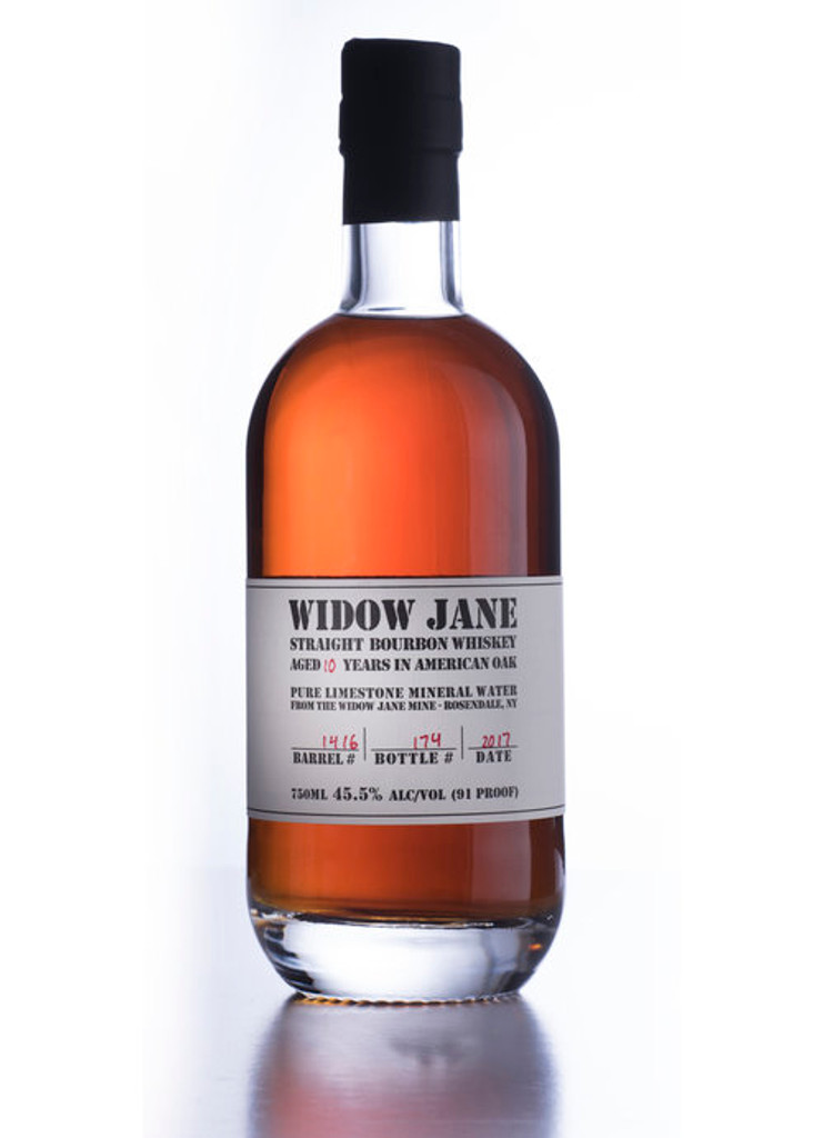 Widow Jane, 10 Year Old Straight Bourbon Whiskey